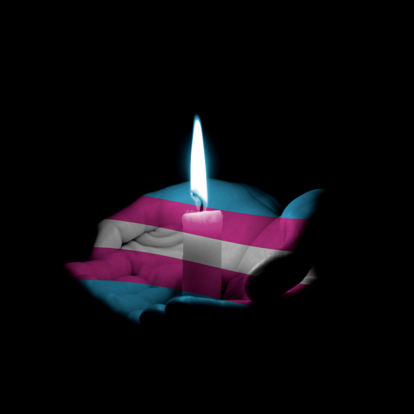 Trans candle